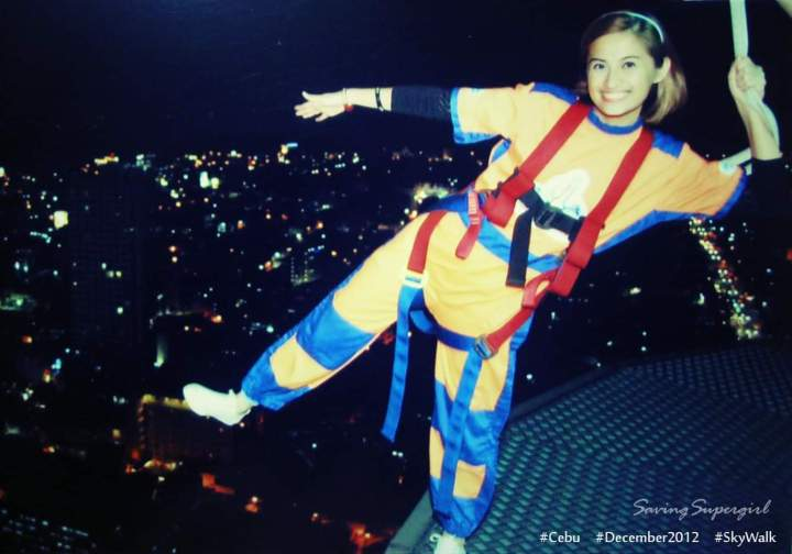 SkyWalk Experience in Cebu