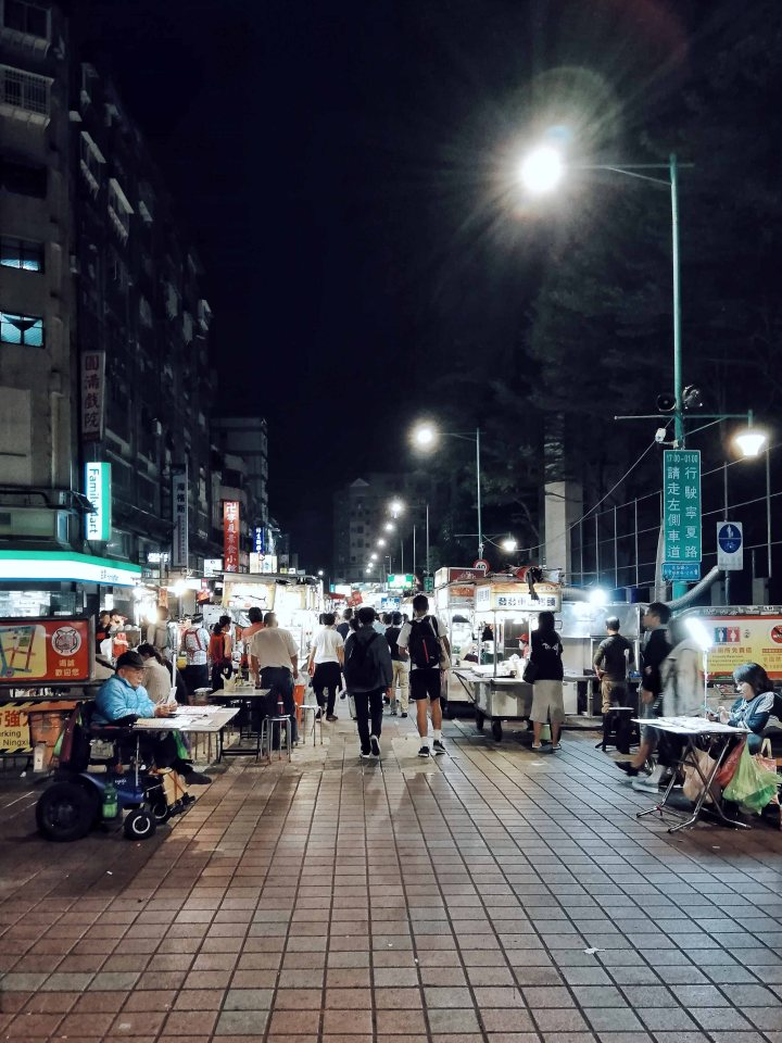 Foodtrip at Ningxia Night Market, Taipei