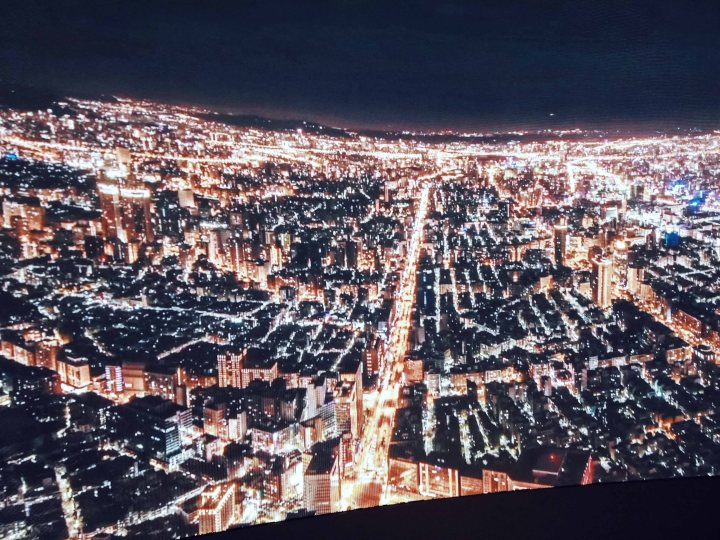 Taipei 101 View - Night Time