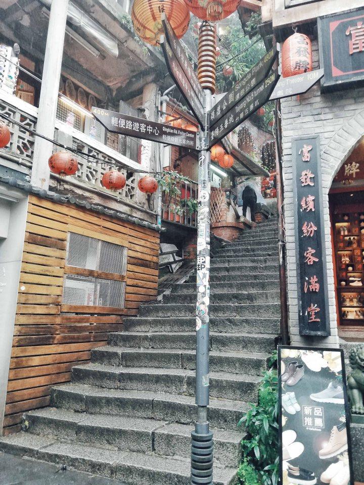 Exploring Jiufen Old Street