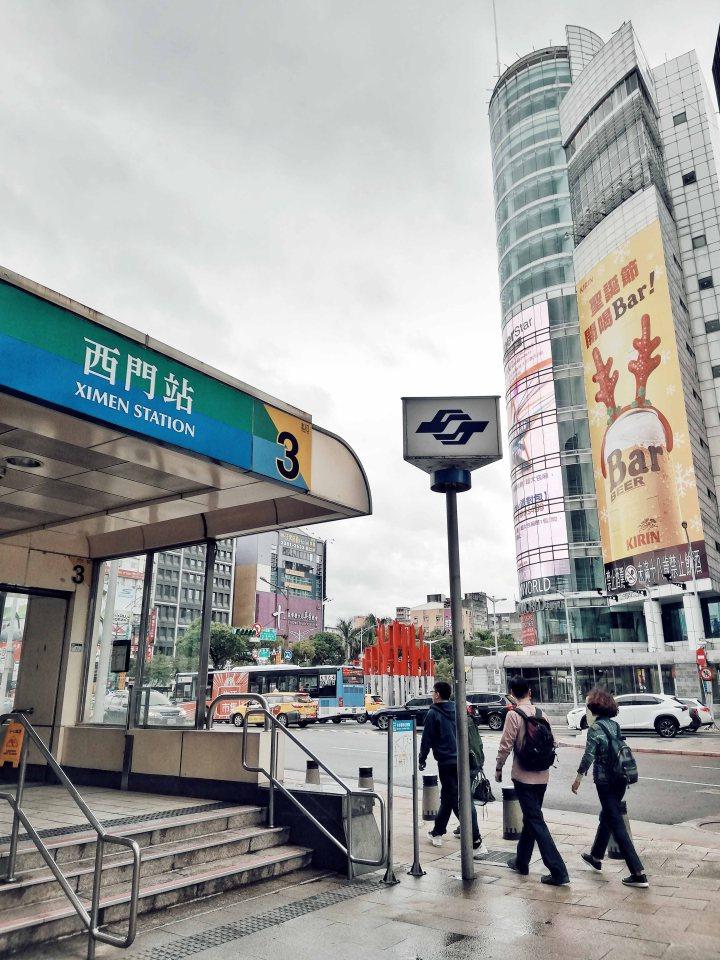 Ximen Station Taiwan
