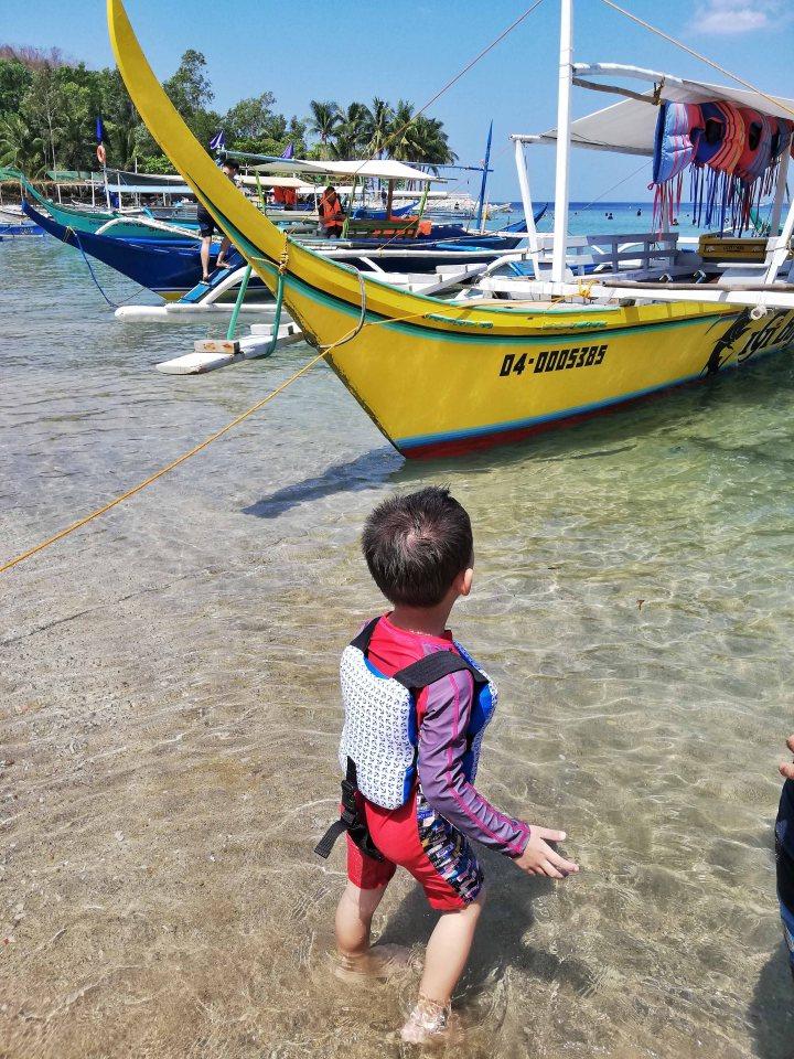 Rafa and the boat